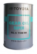 масло TOYOTA Geal Oil Super 75W-90-GL-5 1L